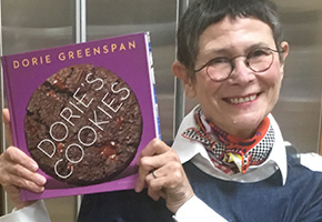 Dorie Greenspan and her cookbook Dories Cookies