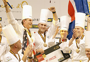 Team USA wins Hold at the 2017 Bocuse D'or