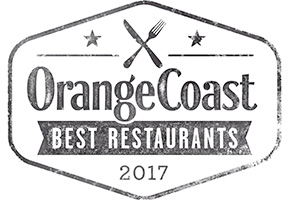 Orange Coast Best Restaurants 2017