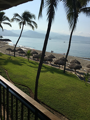 View from the Marriott Puerto Vallarta Resport and Spa