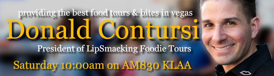 Donald Contursi of LipSmacking Foodie Tours