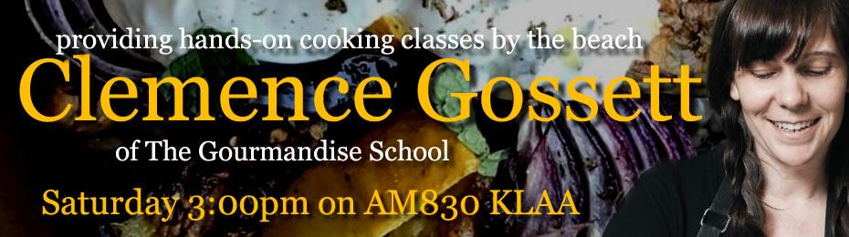 Clemence Gossett of the Gourmandise School