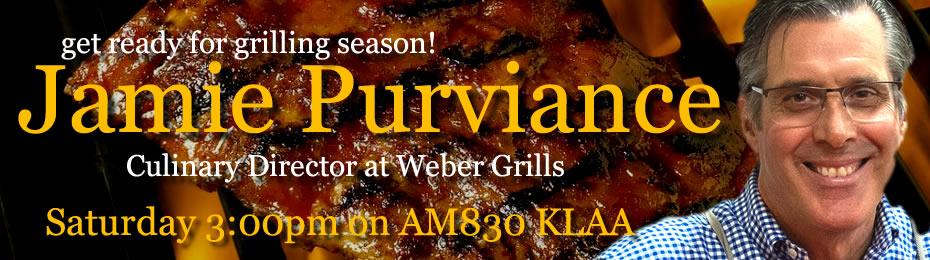 Jamie Purviance of Weber Grills