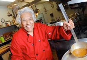 Leah Chase of Dooky Chase in New Orleans