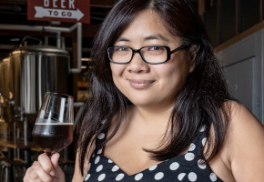 Frances Lopez of the Los Angeles Brewers Guild