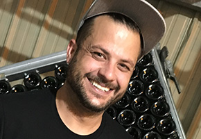 Sofian Himeur of Gruet Winery