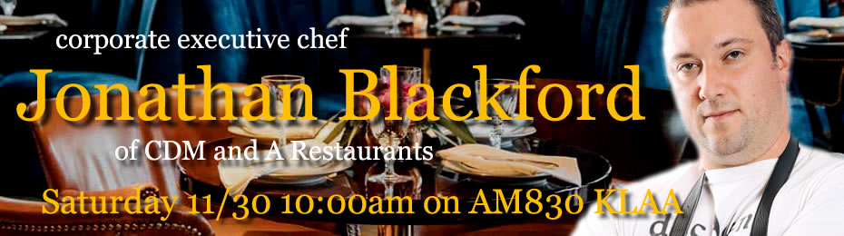 Jonathan Blackford of CDM and A Restaurants in Corona del Mar and Newport Beach