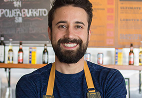 Chef Andrew Gruel of the Slapfish Restaurant Group
