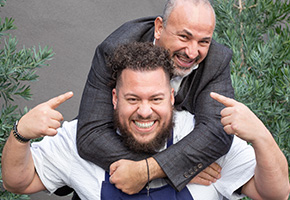 Ahmed Labatte and Amar Santana of Vaca Restaurant Group
