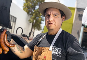 Daniel Castillo of Heritage Barbecue