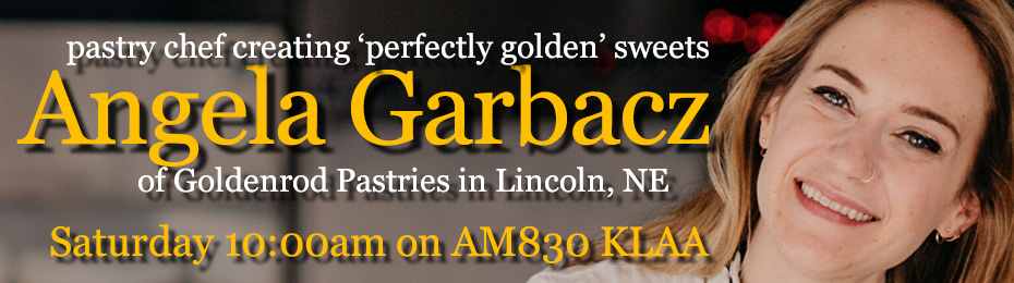 Angela Garbacz of Goldenrod Pastries