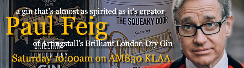 Paul Feig of Artingstall's Brilliant London Dry Gin