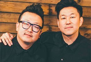 Yong and Ted Kim of Seoul Sausage Company