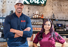 John Reed and Leslie Nguyen of Bosscat Kitchen and Libations
