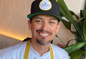 Raymond Alvarez of the Baja Sharkeez Restaurant Group