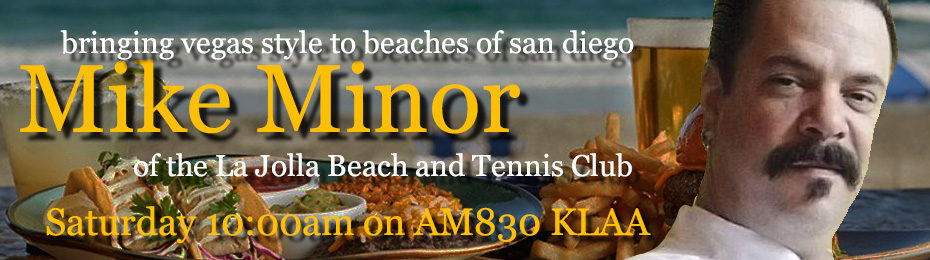 Mike Minor of the La Jolla Beach and Tennis Club