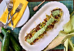 Zucchini And Corn Pancakes by Jonathan Bardzik