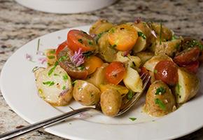 French Potato and Tomato Salad by Jonathan Bardzik